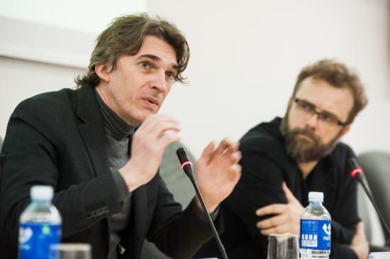 NICOLAS BOURRIAUD, CURADOR DE LA BIENAL DE KAUNAS, LITUANIA.